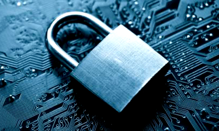 Security lock on circuit board
