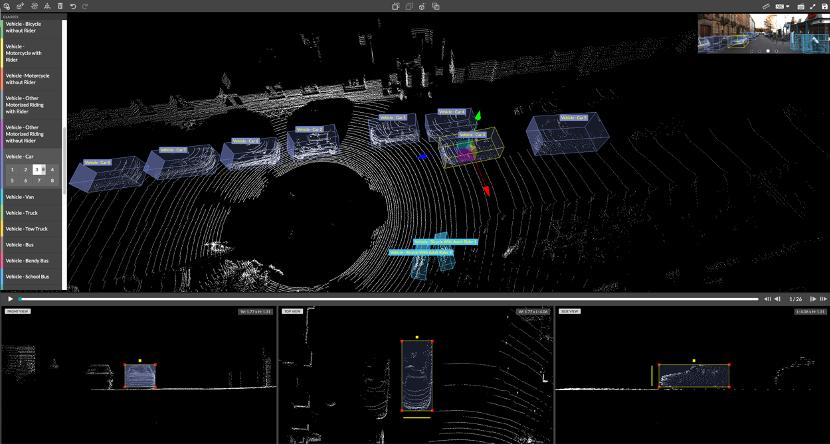 智能驾驶领域应用的2d/3d点云标注技术